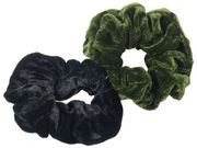 Olive Green Pack Scrunchies