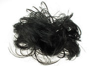 Black Messy Hair Scrunchie
