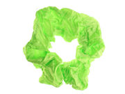Green Tone Creased Scrunchie Hair Bobble