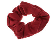 Burgundy Jersey Scrunchie Hair Bobble
