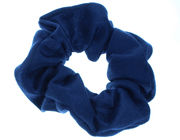 Navy Blue Jersey Scrunchie Hair Bobble