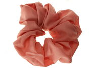 Dusky Pink Classic Scrunchie Hair Bobble