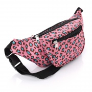 Pink Tone Animal Print Bum Bag