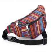 Multi Colour Tribal Print Bum Bag