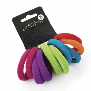 10 Bright Soft Endless Hair Bobbles