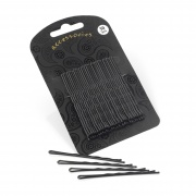 30 Black  6.5cm hair grips