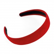3cm Red Velvet Headband