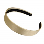Sand Gold Satin Hair Band