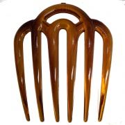 Tort Brown Wide Tooth Side Hair Comb
