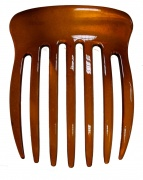 Plain Wide Tooth Tort Brown Side Large Hair Comb