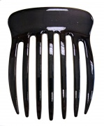 Plain Wide Tooth Black Side Large Hair Comb