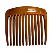 Small Tort Brown Side Hair Comb