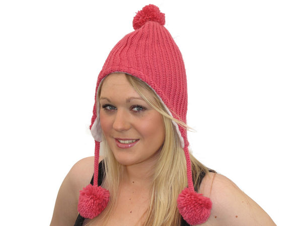 e424acbfb26ae2 Carla Trapper Hat - Dusky Pink - Buy 1 Get 1 Free