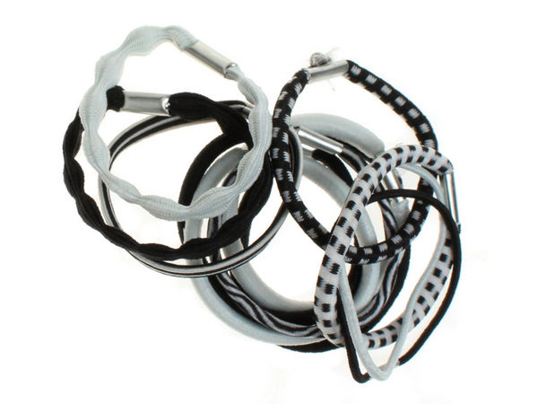 Black   White Hair Elastics - Buy 1 Get 1 Free 204e8753118