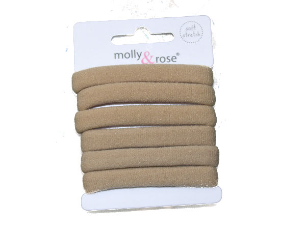 Pastel Jersey Endless Snag Free Hair Bobbles